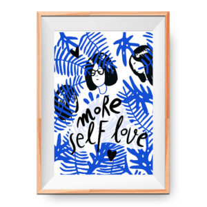 More self love – blue